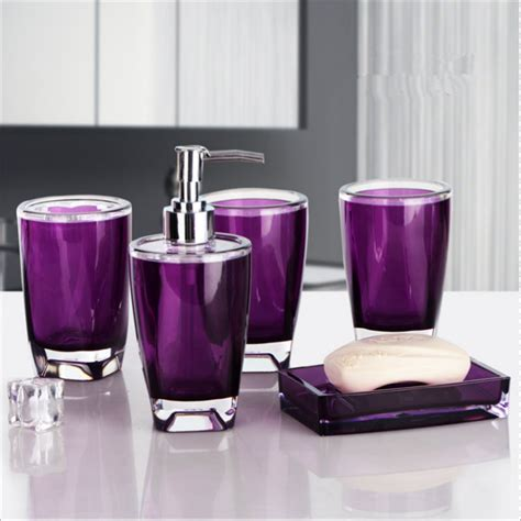 get cheap purple bathroom set aliexpress