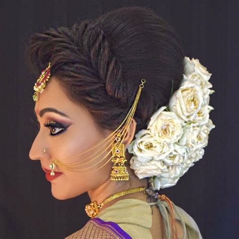 Wedding Hairstyles For Hair In Indian by Indian Bridal Hairstyle With Puff Fade Haircut