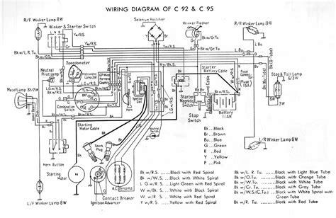 honda c100 wiring diagram 25 wiring diagram images