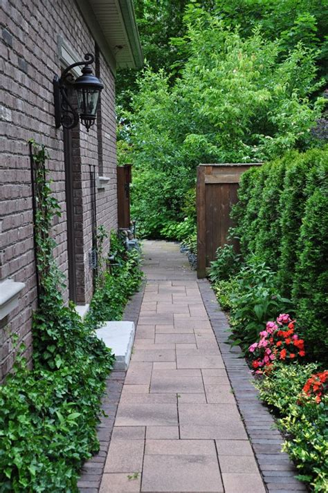suburban backyard landscaping ideas ideas for that narrow space in between suburban homes