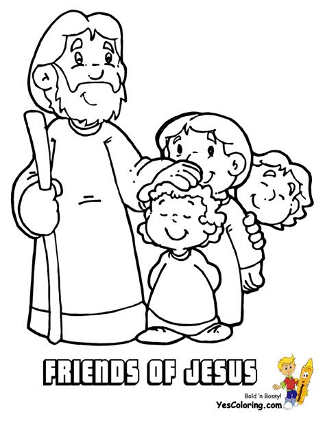Coloring Page Of Jesus by Fight Of Faith Bible Coloring Jesus Free Coloring