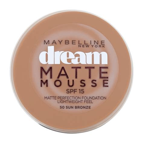 Maybelline Matte Mousse Foundation maybelline new york matte mousse foundation 18ml feelunique