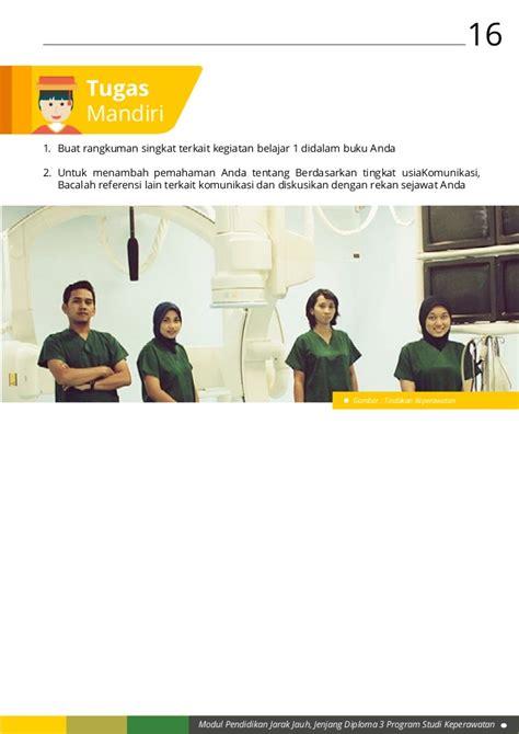 Buku Pengkajian Fisik Keperawatan Kesehatan modul 3 penerapan komunikasi dalam asuhan keperawatan