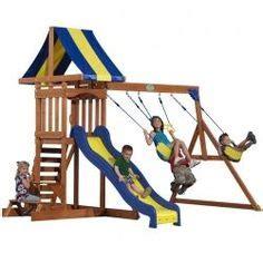 swing set accessories walmart backyard discovery dayton cedar wooden swing set toys