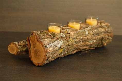 Handmade Wooden Decorations - 15 handmade candle decoration ideas