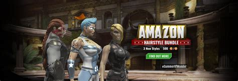 dcuo haircuts look like you belong on themyscira new hairstyles