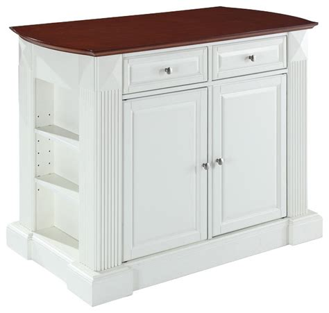 White Kitchen Island With Drop Leaf by Drop Leaf Breakfast Bar Top Kitchen Island With 24 Quot Black