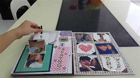Handmade Scrapbook Ideas For Boyfriend - birthday scrapbook for my boyfriend scrap mini albuns