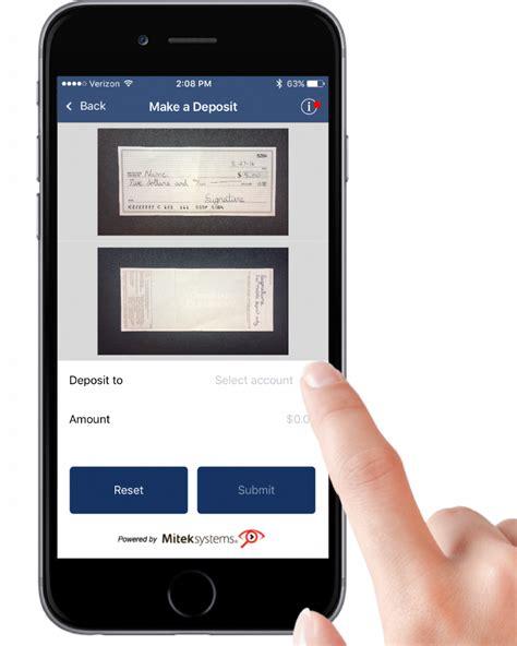 submit mobile mobile deposit u of i community credit union