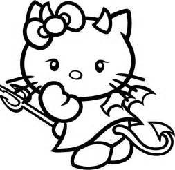 hello kitty halloween coloring pages az coloring pages
