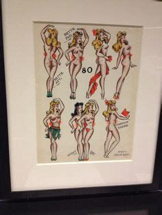 tattoo expo quai branly the image on the left is what my sailor jerry hula girl is