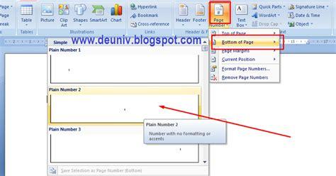 cara membuat no halaman pada word 2013 membuat format halaman berbeda pada satu file word