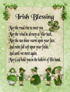 Wedding Blessing From Leap Year by Blessing And Sayings For St S Day