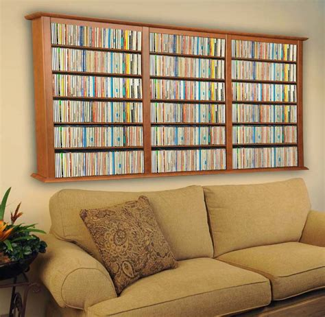 Wall Mounted Cd Rack by Wall Mount Cd Dvd Storage Rack 1026 Cd 480 Dvd New Ebay