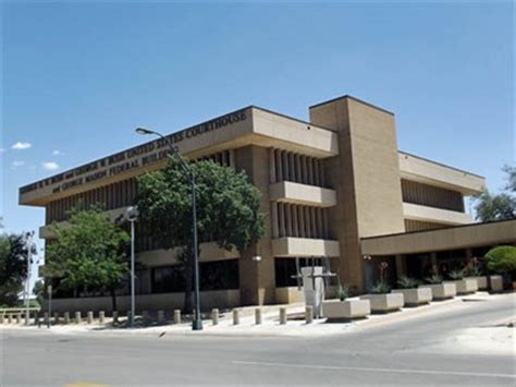 Post Office Midland Tx by George H W Bush And George W Bush Us Courthouse