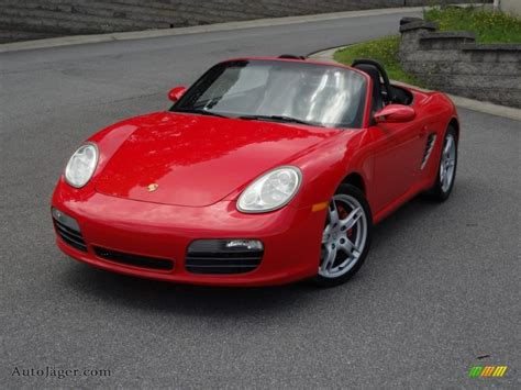 Red Porsche Boxster For Sale by 2005 Porsche Boxster S In Guards Red 730827 Auto J 228 Ger