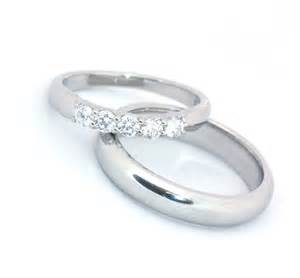 silver wedding rings for platinum ring set wedding rings pictures