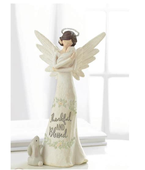 home interior angel figurines grasslands road baby blessings home decor guardian angel