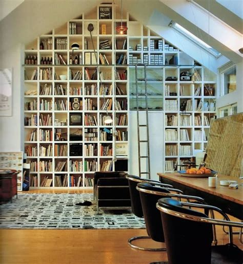 building a library room designs of how vaulted ceilings top off any room with style