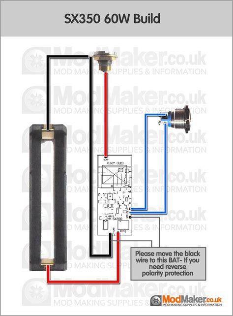 resistor in box mod sx350 60w wiring diagram box mod schematy diy