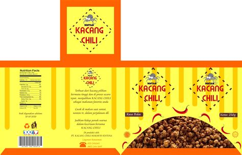 desain kemasan produk ppt jual jasa desain kemasan kacang roniart 3d tokopedia