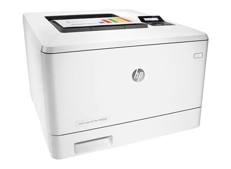 hp color laser printer hp laserjet pro m452dn a4 colour laser printer cf389a