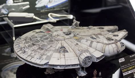 Bandai Swtfa 1 144 Millennium Falcon Assembly Plastic Model Kits detailed photoreport bandai x wars 1 144 millennium falcon on display all japan model