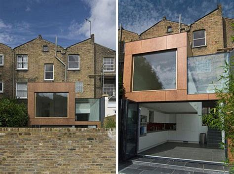 creative small house extension reusable materials idea archinspire creative modern extension for a london residence