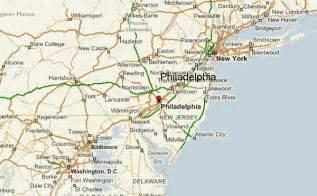 maps united states map philadelphia