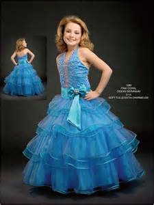 girls beaded pageant halter dress