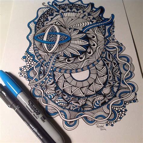 sharpie pen doodles 1000 images about zentangle 4 on