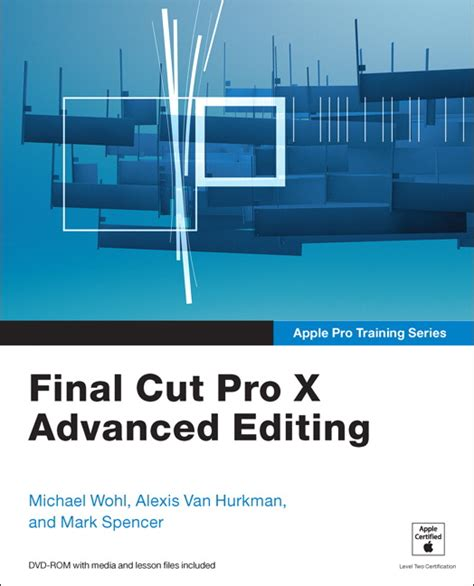 final cut pro price student wohl van hurkman spencer apple pro training series