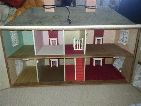 Handmade Dolls House - for sale lovely handmade dolls house for sale the