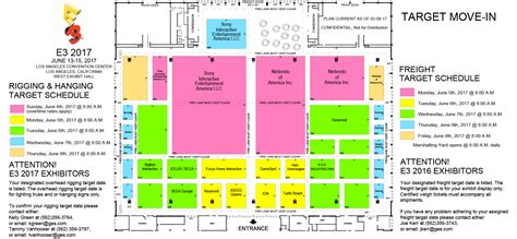 target center floor plan prospective e3 2017 floor plan shows atlus and sega