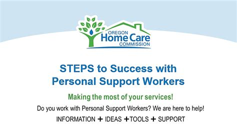 Oregon Home Care Commission by Steps To Success Lila Eugene Oregon