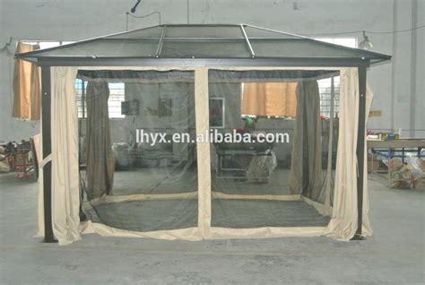 hardtop pavillon 3x4 aluminum hardtop gazebo pavilion pergola design ideas