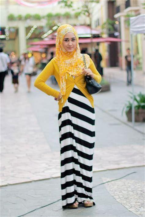 Baju Muslim Remaja Jalan Jalan 17 Trend Contoh Baju Muslim Model Sekarang 2015