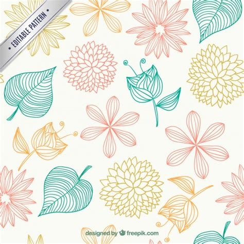flower pattern design vector flower pattern vectors photos and psd files free download