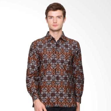 Jual Batik Anakara jual anakara batik sleeve mirawa kemeja batik pria harga kualitas terjamin