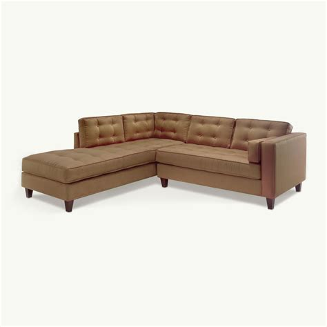 ship a couch smith sectional by younger furniture quick ship 4 weeks