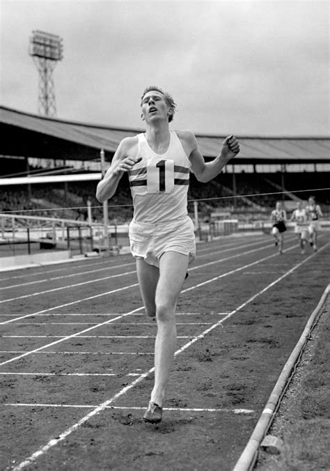 roger bannister background quotes quotesgram