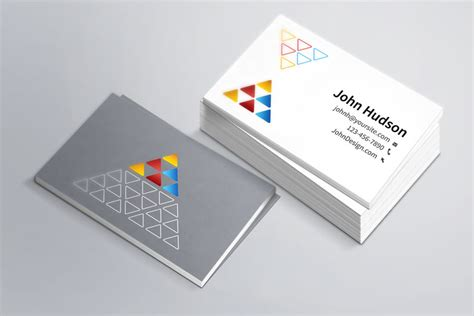 business card mockup template 40 really creative business card templates webdesigner depot