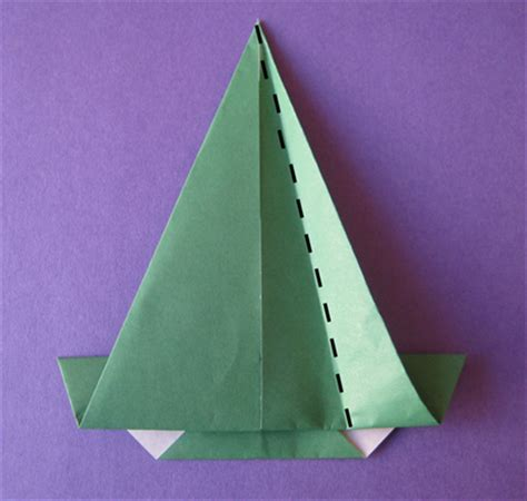 Origami Sombrero - how to make a origami sombrero traditional origami for