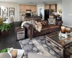 Small Black Leather Chair Design Ideas Chocolate Brown Sectional Decoracion Brown Brown Leather Decorating Ideas