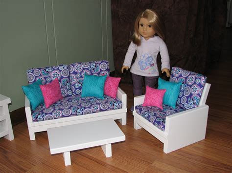 american girl doll chairs 18 inch doll furniture set for american girl doll loveseat