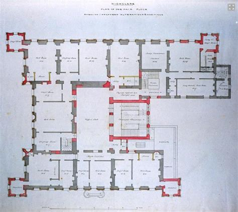 floor plan downton abbey tour highclere castle home of downton abbey