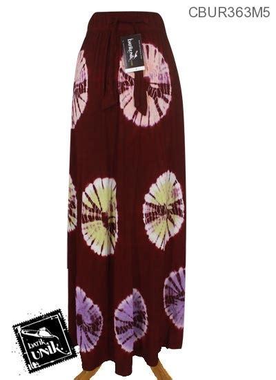 Rok Batik Murah Bahan Katun rok batik kaos katun motif jumputan warna bawahan rok