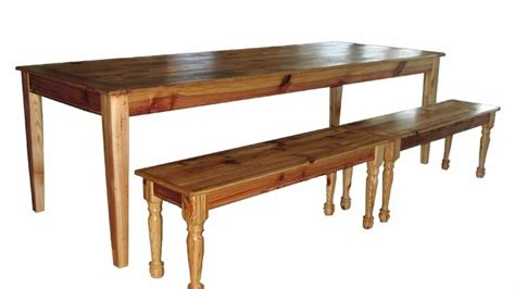 Barn Wood Dining Room Table by Hand Made Antique Barn Wood Dining Room Table With Benches