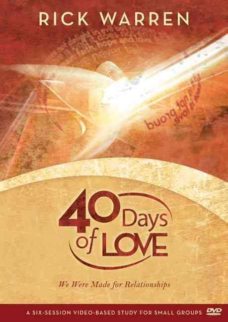 libro the daniel plan study pack 40 days to a healthier life six sessions di rick warren 40 days of love walk thru the bible southern africa