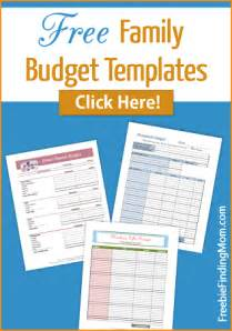 family budget template free free family budget templates organize your family s budget